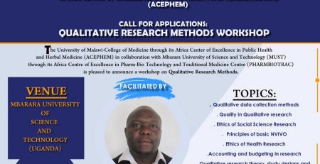ualitative-Research-Methods course Poster