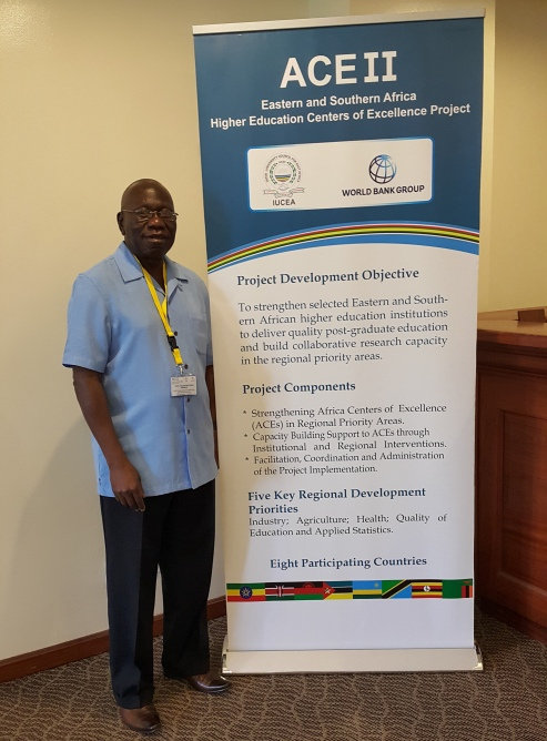 Prof. Celestino Obua at the Workshop in Dar es Salaam