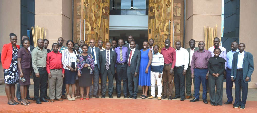 Group Photos with participants of the YEARS Forum Launch Uganda